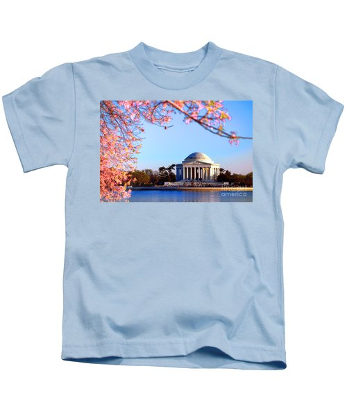 Cherry Jefferson Kids T-Shirt