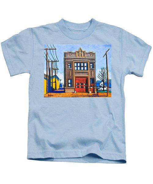 Chicago Fire Station Kids T-Shirt