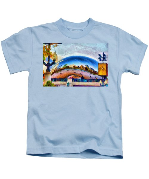 Chicago Reflected Kids T-Shirt