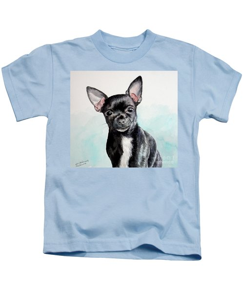 Chihuahua Black Kids T-Shirt