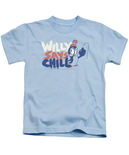 Chilly Willy - I Say Chill Kids T-Shirt by Brand A