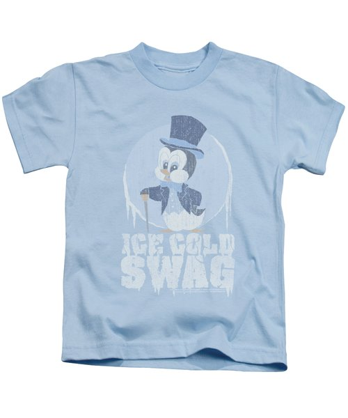 Chilly Willy - Ice Cold Kids T-Shirt by Brand A