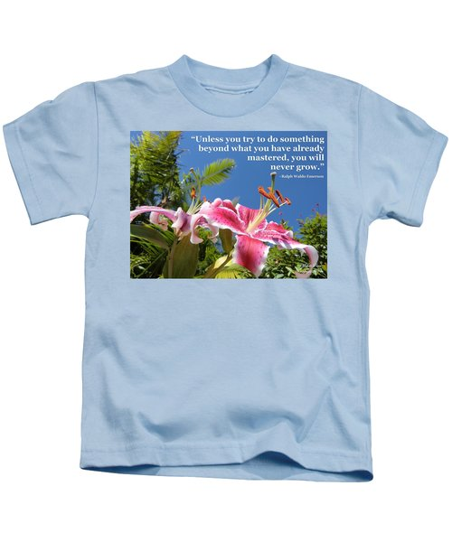 Choose Your Quote Choose Your Picture 18 Kids T-Shirt
