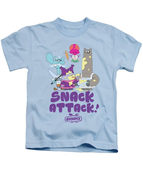 Chowder - Snack Attack Kids T-Shirt