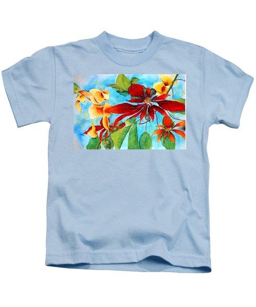 Christmas All Year Long Kids T-Shirt