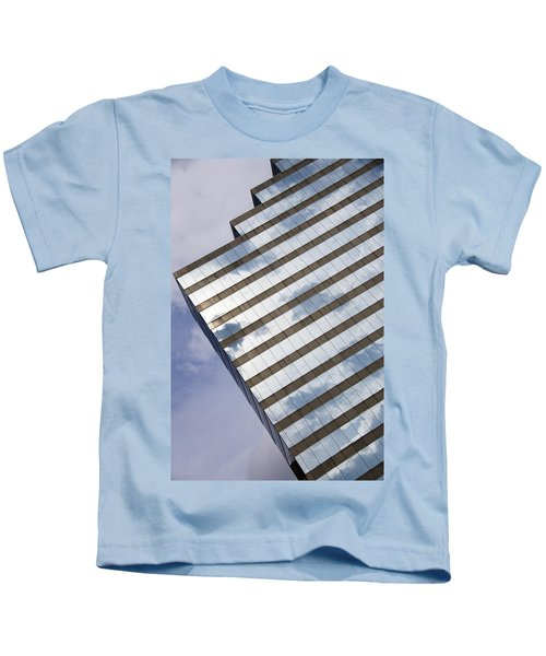 City Cloudscape Kids T-Shirt