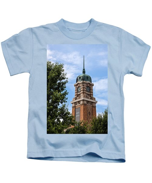 Cleveland West Side Market Tower Kids T-Shirt