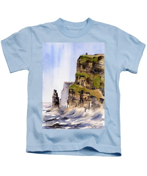 Clare   The Cliffs Of Moher   Kids T-Shirt