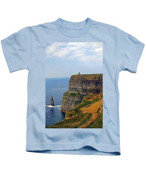 Cliffside Steeple Kids T-Shirt