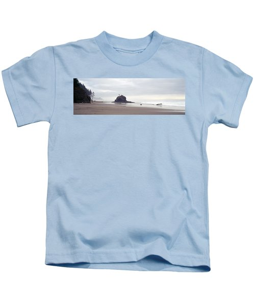 Coast La Push Olympic National Park Wa Kids T-Shirt by Panoramic Images