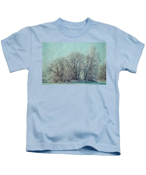 Cold Winter Day Kids T-Shirt