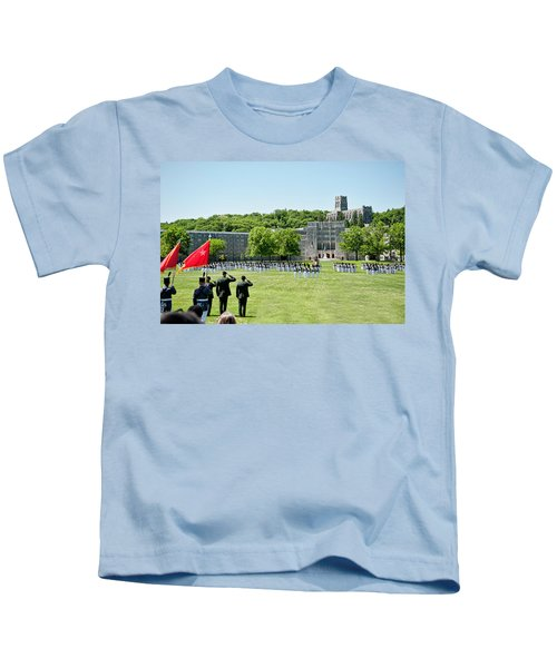 Corps Of Cadets Present Arms Kids T-Shirt