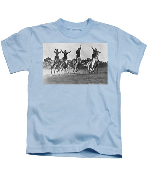 Cowgirls At The Rodeo Kids T-Shirt