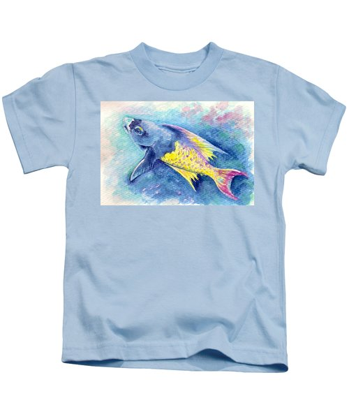 Creole Wrasse Kids T-Shirt