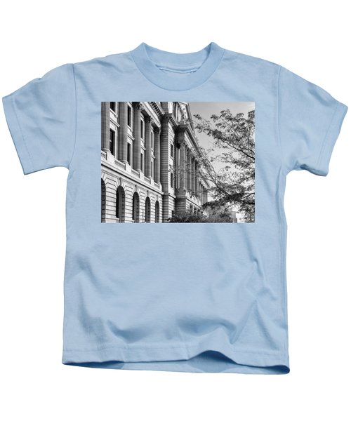 Cuyahoga County Court House Kids T-Shirt