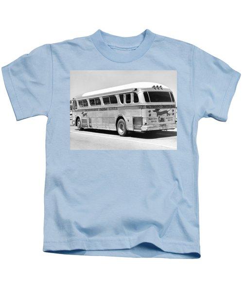 Dachshound Charter Bus Line Kids T-Shirt