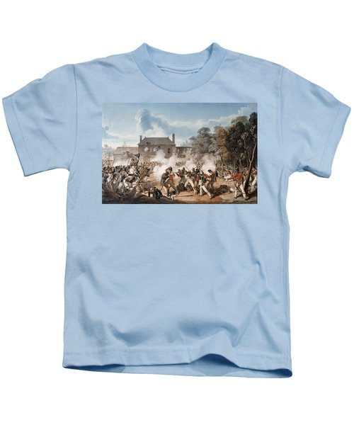 Defence Of The Chateau De Hougoumont Kids T-Shirt