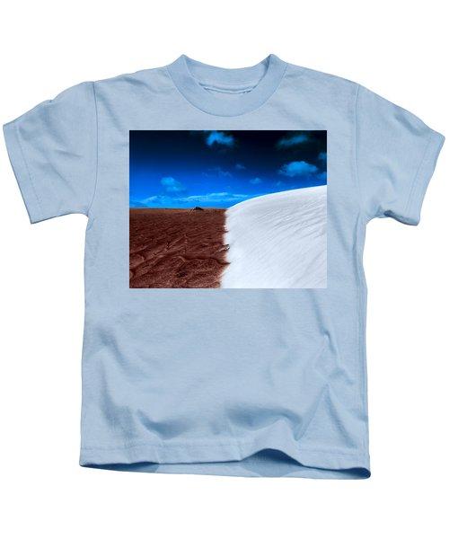 Desert Sand And Sky Kids T-Shirt