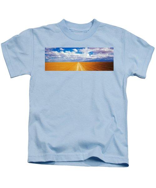 Dirt Road Amboseli Kenya Kids T-Shirt