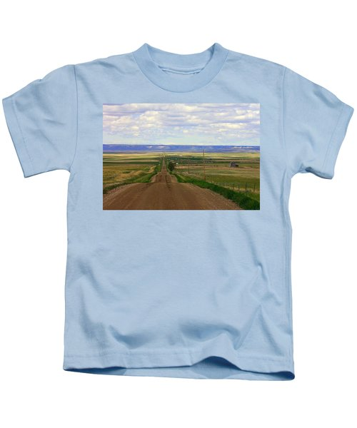 Dirt Road To Forever Kids T-Shirt