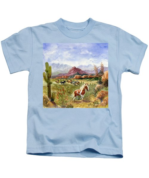 Don't Fence Me In Part One Kids T-Shirt