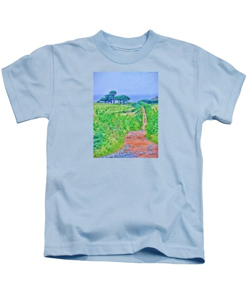 Down To The Sea Herm Island Kids T-Shirt