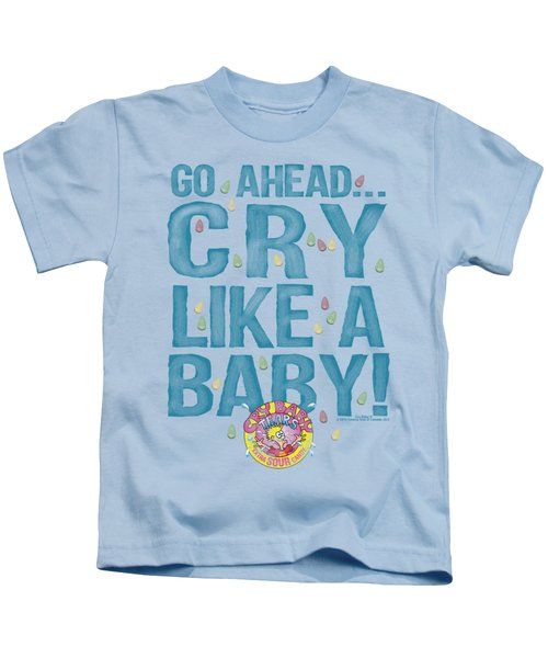 Dubble Bubble - Cry Like A Baby Kids T-Shirt
