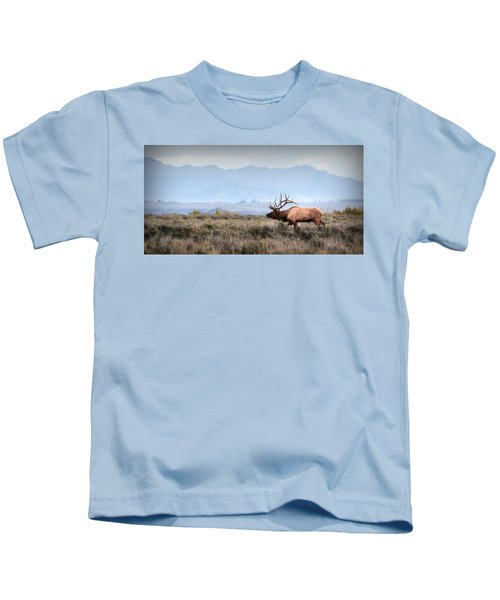 Elk Crossing Kids T-Shirt