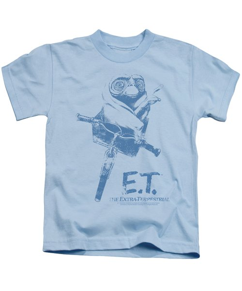 Et - Bike Kids T-Shirt
