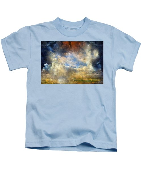 Eye Of The Storm  - Abstract Realism Kids T-Shirt