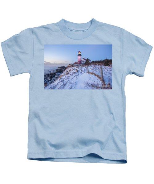 Facing East  Kids T-Shirt