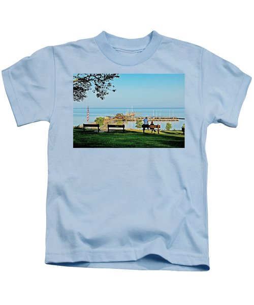 Fairhope Alabama Pier Kids T-Shirt