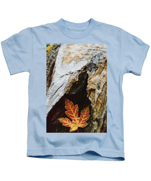 Fall Leaf Kids T-Shirt