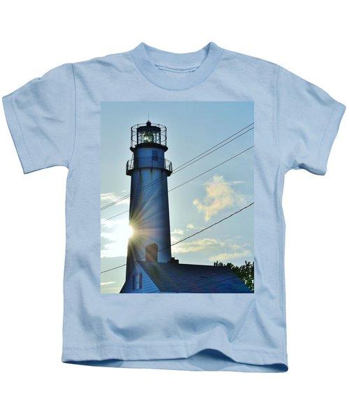 Fenwick Island Lighthouse - Delaware Kids T-Shirt