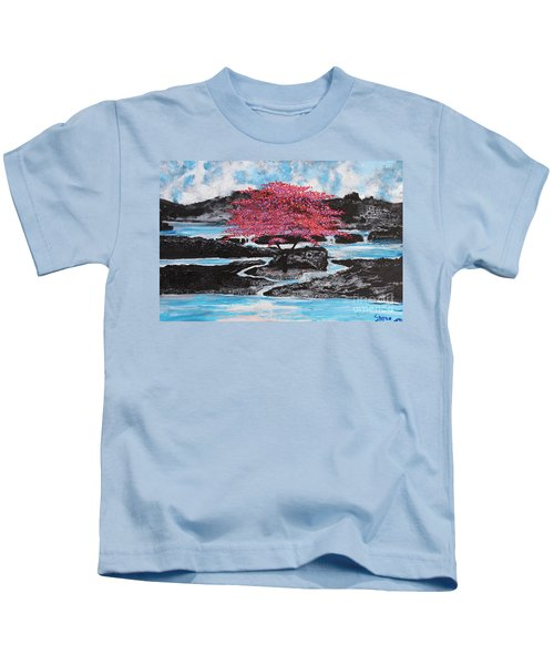 Finding Beauty In Solitude Kids T-Shirt