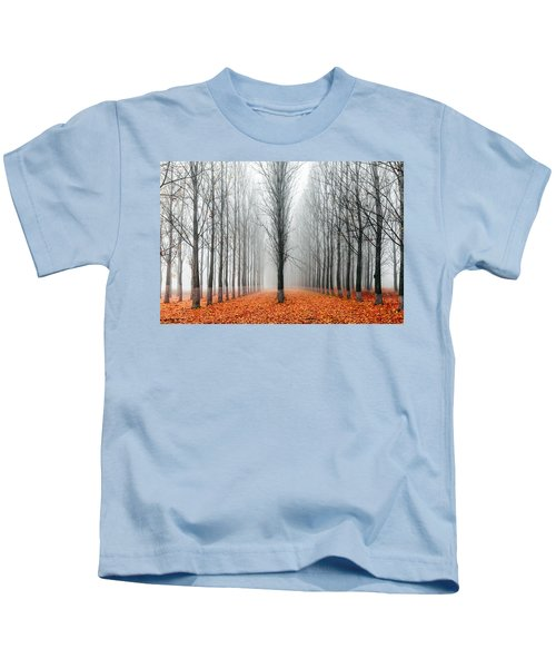 First In The Line Kids T-Shirt