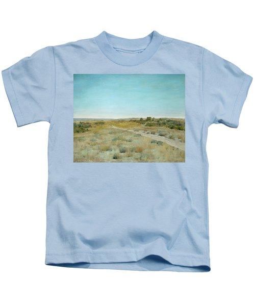 First Touch Of Autumn Kids T-Shirt