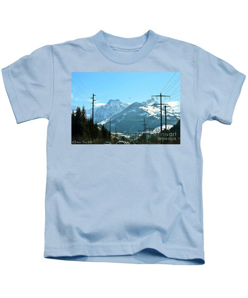 The Way To The Alps Kids T-Shirt