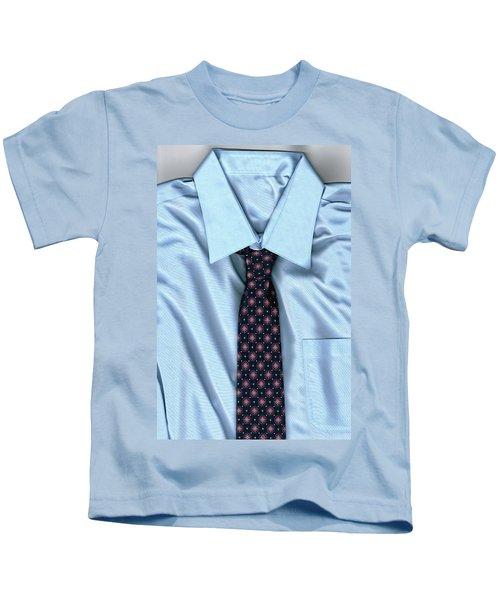 Friday Morning - Men's Fashion Art By Sharon Cummings Kids T-Shirt