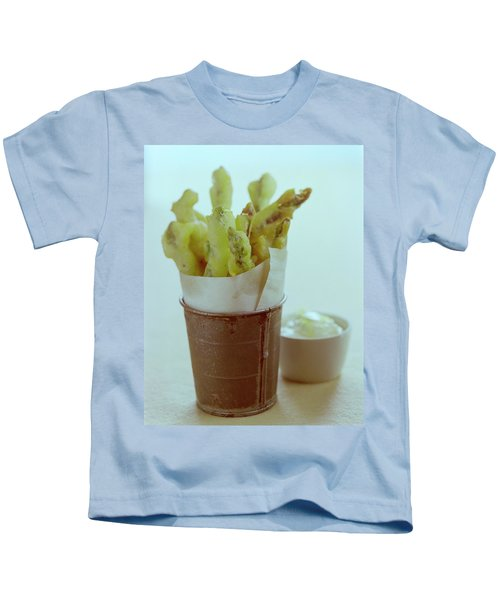Fried Asparagus Kids T-Shirt