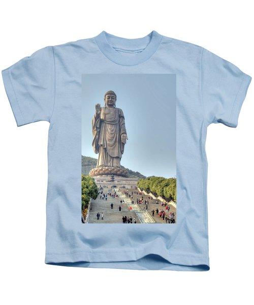 Giant Buddha Kids T-Shirt