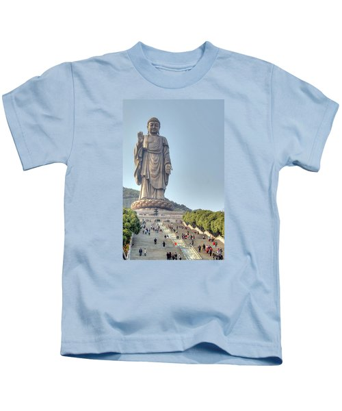 Giant Buddha Kids T-Shirt