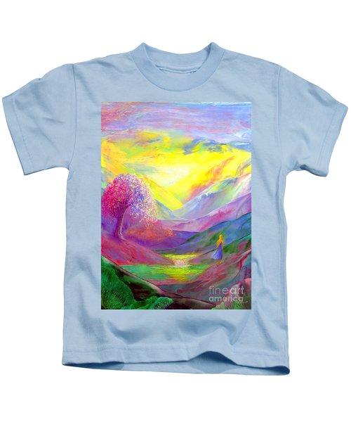 Gold Horizons Kids T-Shirt