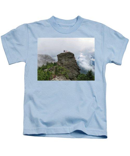 Grandfather Mountain Hikers Kids T-Shirt
