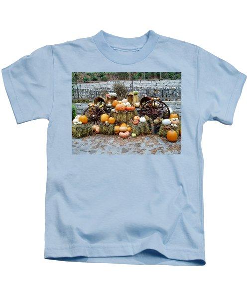 Halloween Pumpkins Kids T-Shirt
