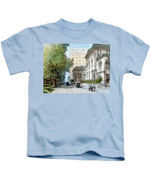 Harrison Residence East Rittenhouse Square Philadelphia C 1890 Kids T-Shirt