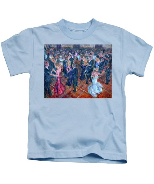 Having A Ball - Dancers Kids T-Shirt