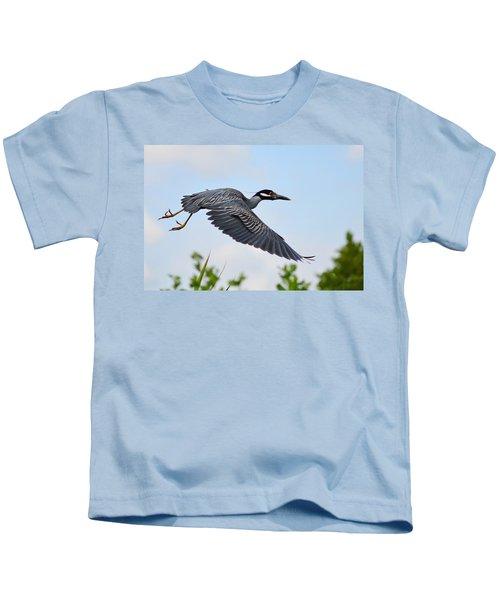 Heron Flight Kids T-Shirt
