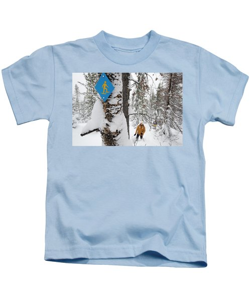 High Angle View Of A Mid Adult Woman Kids T-Shirt