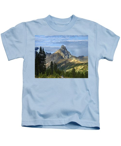 Hilda Peak Banff Np Alberta Kids T-Shirt